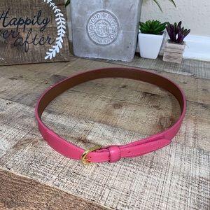 Pink Brooks Brothers Belt